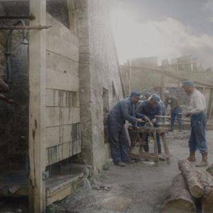 Különleges színezett fotók mutatják be, milyen volt a francia katonák élete az I. világháborúban