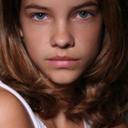 Így nézett ki Palvin Barbara 13 évesen
