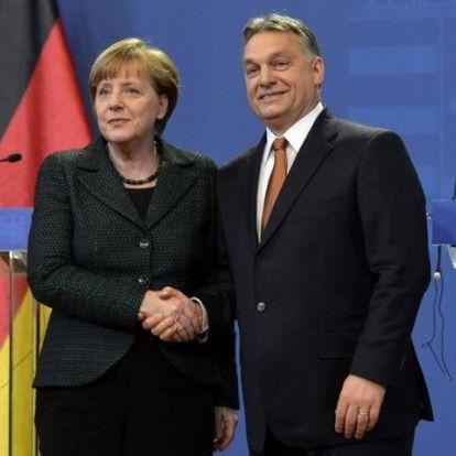 Üzenet Merkeléktől: aki nem fogadja el Orbán győzelmét az nem demokrata!