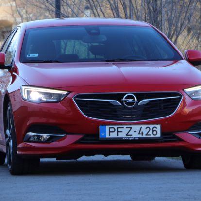 Nem GSi, nem OPC, csak egy bivalyerős, nagyon jó Opel Insignia – teszt