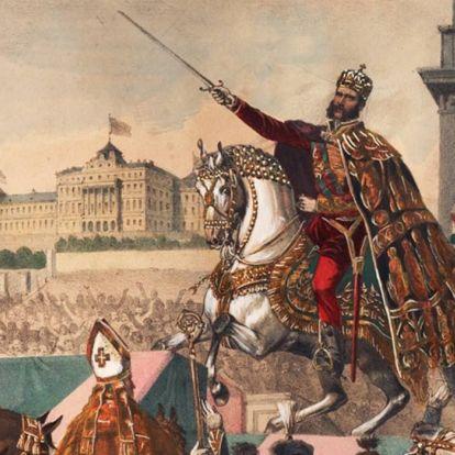 150 évvel ezelőtt koronázták magyar királlyá Ferenc Józsefet