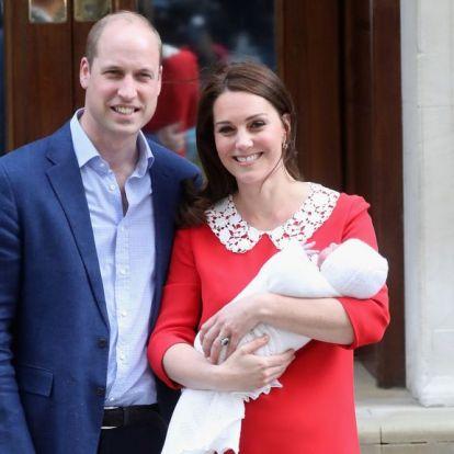 Vilmos herceg harmadik gyereke nevével viccelődött