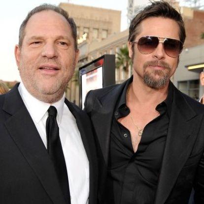Brad Pitt csinálhat filmet a Weinstein-botrányból