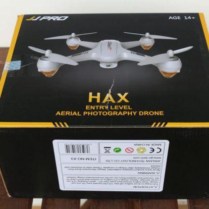 JJRC X3 Pro HEX drón teszt – Hazarepül Kínába