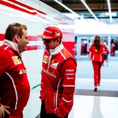 Räikkönen elbúcsúztatta versenymérnökét