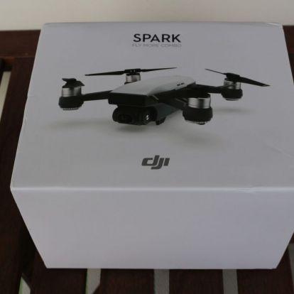 DJI Spark drón teszt – Apple-ebb az Apple-nél