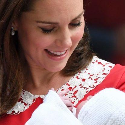 Végre itt vannak az első hivatalos képek Lajos hercegről