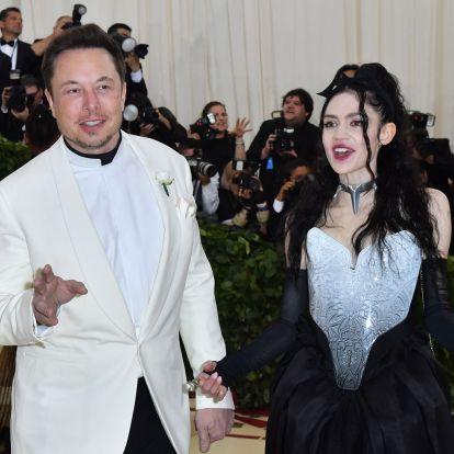 Az internet földre került, és rászámolnak: Grimes és Elon Musk járnak