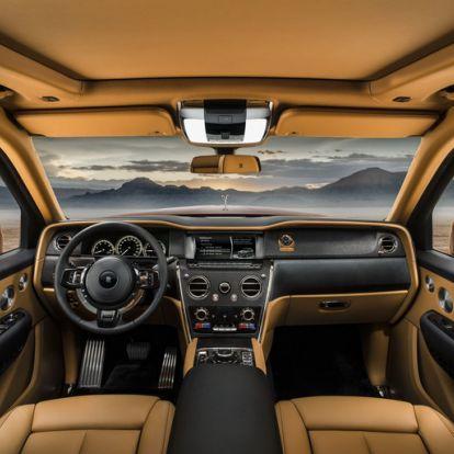 A Rolls-Royce-é a legdrágább terepjáró
