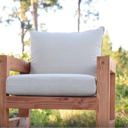 Modern kültéri fotel