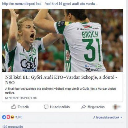 Görbicz Anita Facebook-kommentben köszönte meg Orbán Viktornak a meleg szavait
