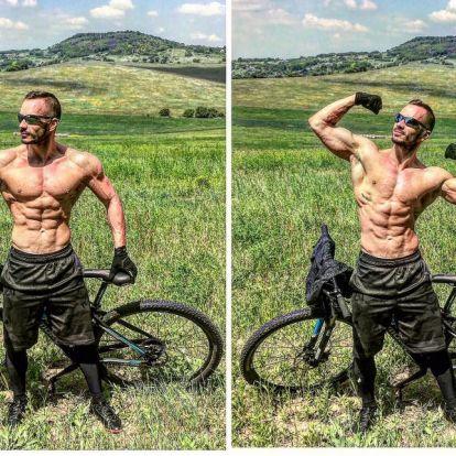 MTB-verseny, mint kardiogyakorlat