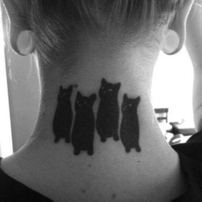 Macskás tetkók 3
