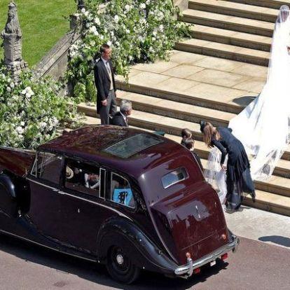 Harry herceg beszédét többször is meg kellett szakítania esküvőjét követő fogadáson