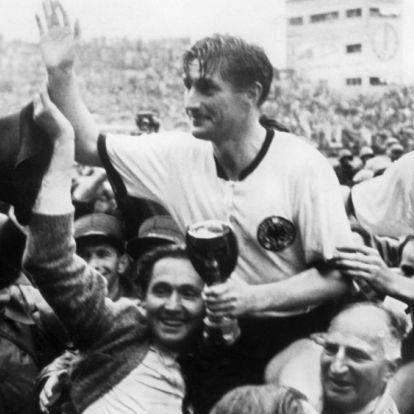A vb-történet ötven legjobb futballistája: 25. Fritz Walter - egy magyar őr mentette meg