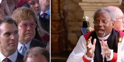 Elton Johnnak úgy látszik nem tetszett a Harry herceg esküvőjén összevissza beszélve prédikáló lelkész