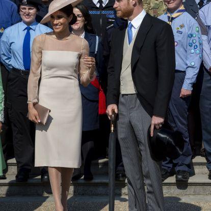 Meghan hercegné első hivatalos eseményén sógornőjét utánozta