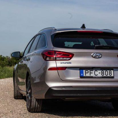 (TESZT) Hyundai i30 kombi 1.4 T-GDi Comfort - stílus és praktikum találkozása | AutóAddikt