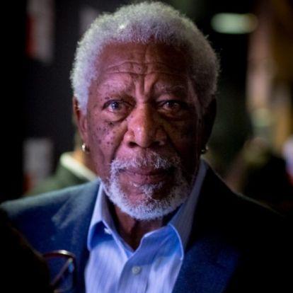 Morgan Freeman összetört a zaklatási vádak miatt