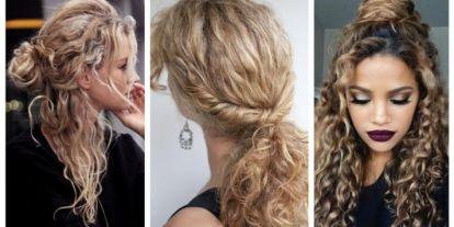 Top10: frizura ötletek göndör hajhoz