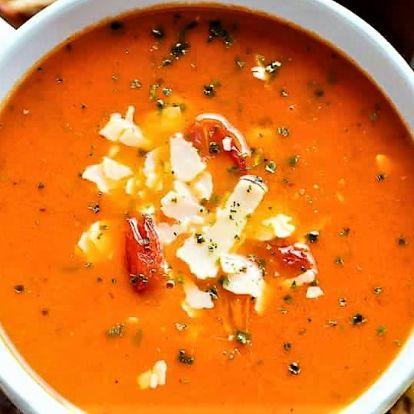 Sült paradicsom leves