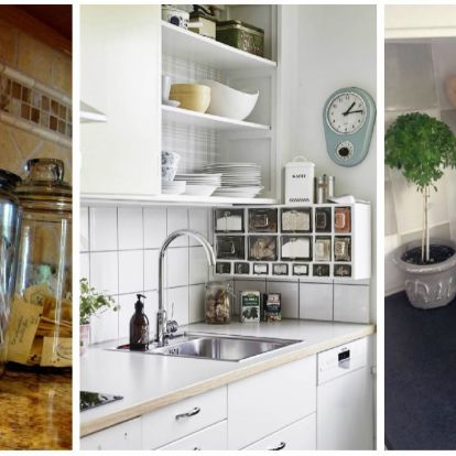 A legjobb tárolási ötletek, hogy mindig rend legyen a konyhádban