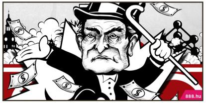 Top Soros-karikatúrák