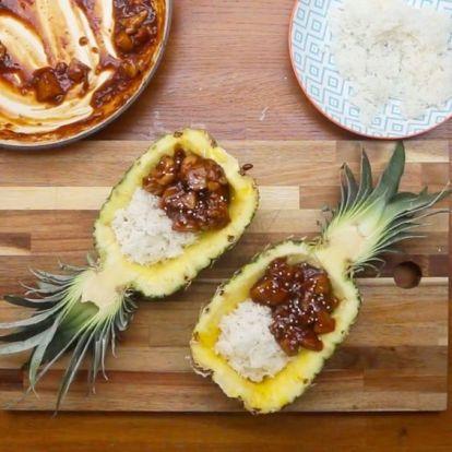 Az ananászos csirke 3+1 változata