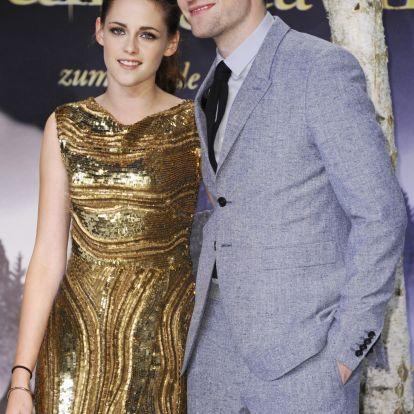 Nem bírja egymás nélkül Robert Pattinson és Kristen Stewart