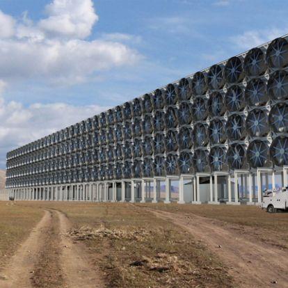 Rendkívül hatékonyan képes kivonni a szén-dioxidot a levegőből egy új technológia