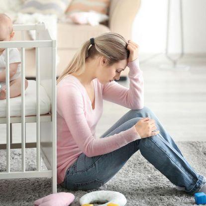 Szoptatással a szülés utáni depresszió ellen
