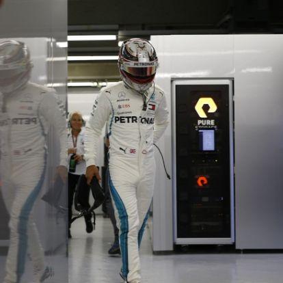 Hamilton nem is gondol arra, hogy elbukhatja a vb-címet