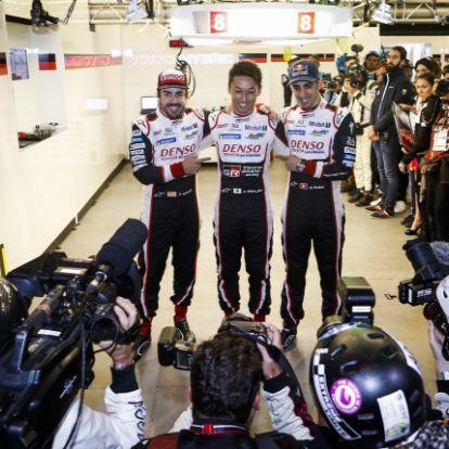 Korábbi vetélytársa szerezte meg a Le Mans-i pole-t Alonsónak