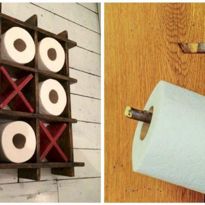 A legkreatívabb ötletek a WC papír tárolásához