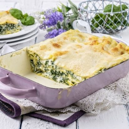 Spenótos lasagne, amiből SOHA nincs maradék