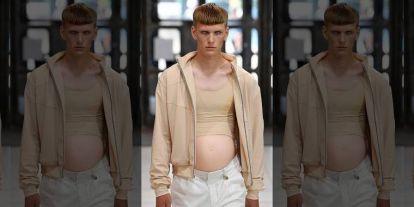 Terhes férfiak jelentek meg Londonban