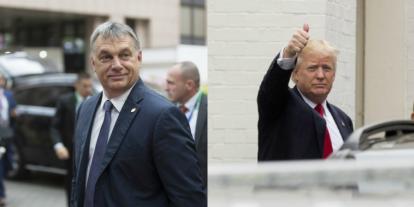 Orbán Viktor nagy egyetértésben tárgyalt Donald Trump amerikai elnökkel