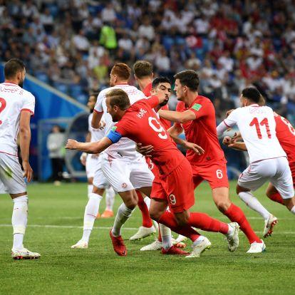 Kane duplájával, a hosszabbításban nyert Anglia