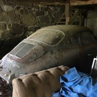 40 éve szunnyadó Porschét találtak egy amerikai garázsban