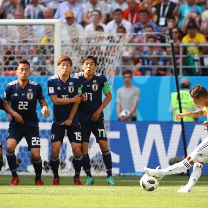 Kolumbia nagyon okos gólja is kevés volt Japán ellen