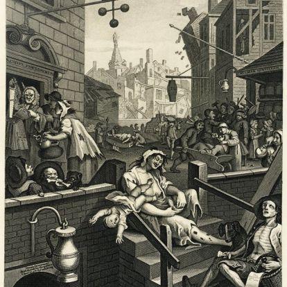A nagy ginőrület – a szesz, amiért vetkőztek, öltek és meghaltak Angliában