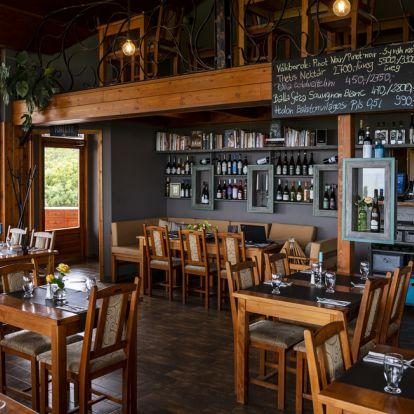 New Csóka Fészek in Balatongyörök provides fine cuisine and fantastic views