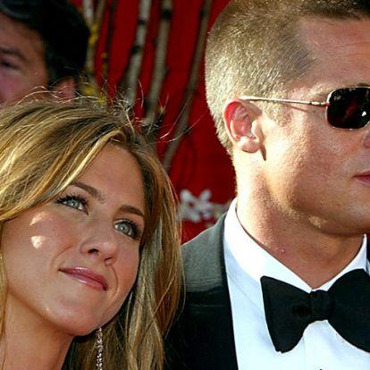 Brad Pitt szeretné bemutatni Jennifer Anistont a gyerekeinek?