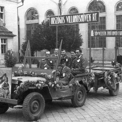 Fortepan - amerikai autók Magyarországon