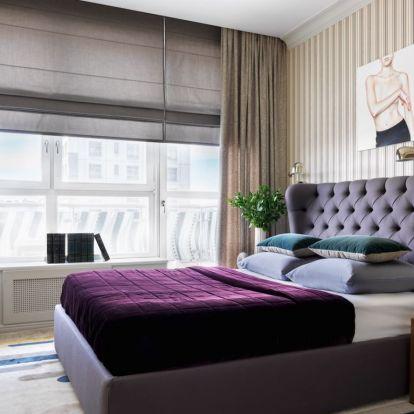 Új elrendezés a konyha áthelyezésével egy fiatal pár 77m2-es lakásában - praktikusabb élettér, stílusos berendezés, rejtett ajtók
