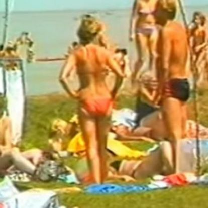 Ilyen volt a Balaton a 80-as években! Retro Balaton VIDEÓN!!