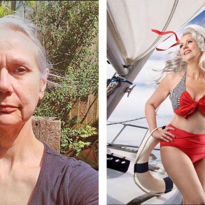 5 nagymamakorú hölgy, akit gyönyörű Pin-Up modellé változtattak egy különleges fotózáson