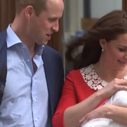 Ilyen volt a kis Lajos herceg keresztelője szűk családi körben