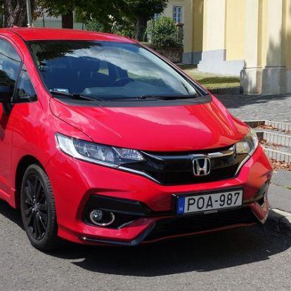 Ha kell egy kis energia – Honda Jazz 1.5 i-VTEC Dynamic teszt