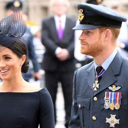 Harry herceg lemond a rangjáról Meghan hercegnéért?